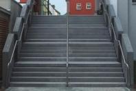 Stadtbücherei Forchheim, Treppenanlage