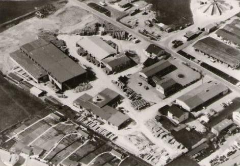 Zuber Betonwerk in den 50er Jahren
