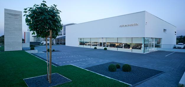 Showroom Aston Martin Stuttgart, Filderstadt